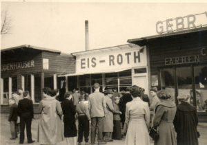 Eis-Roth in der Landgraf-Georg-Straße.